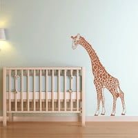 Wall Decal Giraffe Nursery Vinyl Wall Art Decor