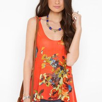 Full Bloom Tank in Clothes at Nasty Gal