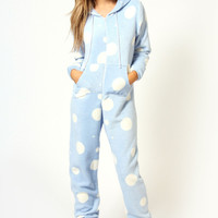 Gianna Polka Dot Super Soft Onesuit