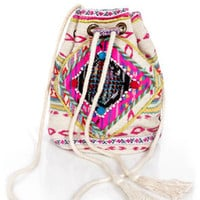 Billabong Take Me There Tribal Print Purse