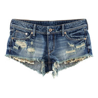 Denim Shorts - from H&amp;M