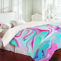 DENY Designs Home Accessories | Jacqueline Maldonado Liquid 3 Duvet Cover