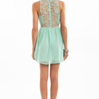Lacey Tank Skater Dress $54