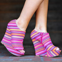 Girl Of My Dreams Wedges: Multi | Hope&#x27;s