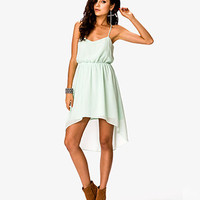 High-Low Racerback Dress