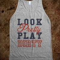 Look Pretty, Play Dirty (Tank) - expressions