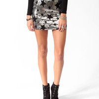 Sequined Stars Skirt