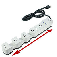 IDEATIVE Socket Sense Surge Protector SS1650W-06