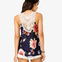 Floral Embroidered Tank | FOREVER 21 - 2047781666