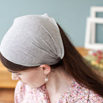 Stretch headband covering in any color Classic by GarlandsOfGrace
