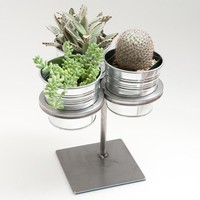 Poketo Three-ring-plant-stand-Steel