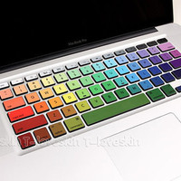 Keyboard Decal macbook Keyboard decal Avery macbook pro decal Art Partial macbook Vinyl stikcers Humor skin protector