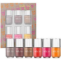 Sephora: nails inc. Neon and Nude Collection: Nail Polish Sets