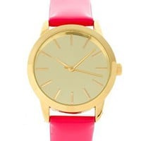 ASOS Patent Color Watch at ASOS