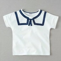 sailor collar t-shirt
