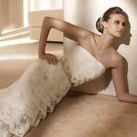 Cheap Pronovias Wedding Dresses - Style Atalaya - Only USD $342.40