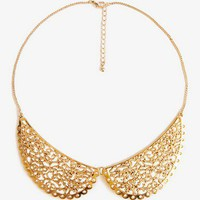 Filigree Peter Pan Collar Necklace | FOREVER 21 - 1038583488