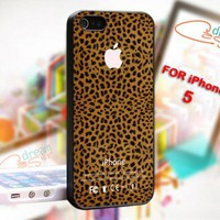 Leopard Pattern - Photo On Hard Cover For iPhone 5