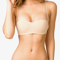 Wireless Microfiber Convertible Bandeau Bra