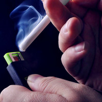 Cool USB No Fire Cigarette Lighter