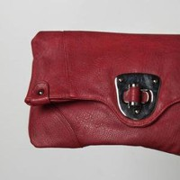Wine Press Red Clutch