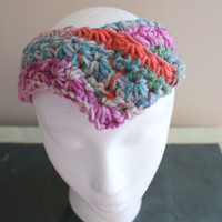 Womens Fashion Hairband, Earwarmer Headband, Harem Headband, Twist Headband, Knot Headband, Yoga Hairband, Workout Headband