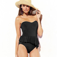 Solids BM302 Swimsuit by Badgley Mischka