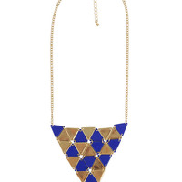 Mini Triangle Necklace | FOREVER21 - 1000043783