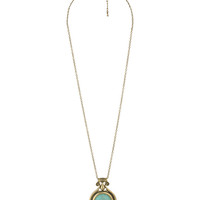 Broken Stone Necklace | FOREVER21 - 1000040676