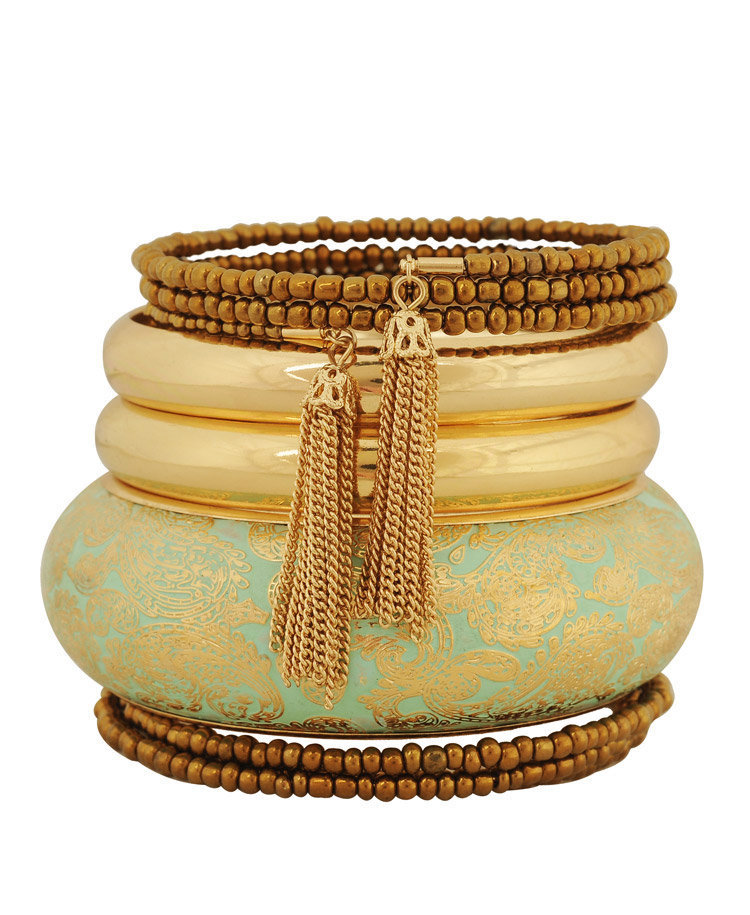 Paisley Tassel Bangles | FOREVER21 - 1000034881