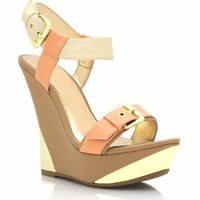 metal-accent-buckle-wedges NATURAL - GoJane.com