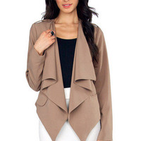 Charize Draped Front Jacket $33