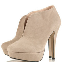 SIMBA V Throat Shoe Boots - View All - Shoes - Topshop USA
