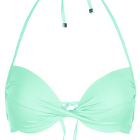 Aqua Plunge Bikini Top - New In This Week - New In - Topshop