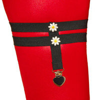 The Daisy Chain Leg Garter