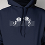 Music Treble Down Screen Printed Hoodie Hooded Sweatshirt Mens Womens Ladies  Musician Funny Music Nerd Geek