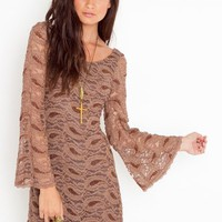 Paisley Lace Dress in Clothes at Nasty Gal