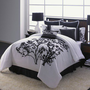 Hallmart Collectibles Central Park Embroidery Comforter Set | Wayfair