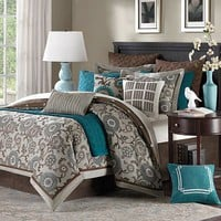 Hampton Hill Bennett Bedding Coordinates