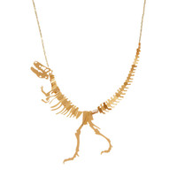 Tatty Devine Small Dinosaur Necklace