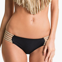 Luli Fama Braided Side Bikini Bottoms | Nordstrom