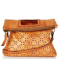 Geo Perforated Crossbody Bag - Bags &amp; Wallets  - Bags &amp; Accessories