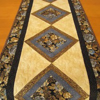 Handmade Table Runner Floral Beauty