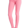 J Brand 811 Mid-Rise Skinny in Pale Watermelon