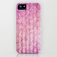 FLORAL PATTERN II iPhone Case by  VIAINA | Society6