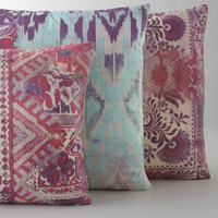 Tracy Porter Pink &amp; Aqua Pillows