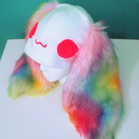 Fluffy Rainbow Bunny