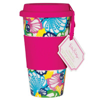 Lilly Pulitzer - Ceramic Travel Mug - Chiquita Bonita - Dwellings
