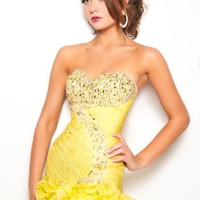 Jasz Couture Dress 4731 at Peaches Boutique