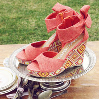 Southwestern Stroll Wedges, Sweet Country Inspired Shoes